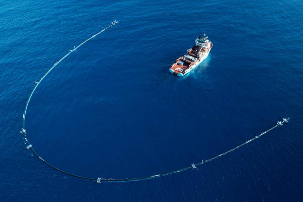 The Ocean Cleanup: cómo funciona
