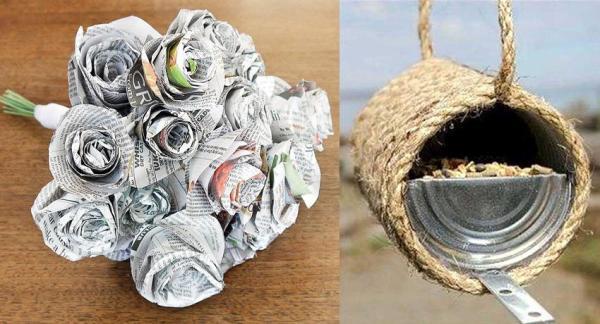 10 cosas cotidianas que puedes reutilizar fácilmente en casa - Reutilizar el papel de periódico