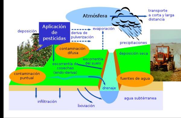 Contaminación de las aguas subterráneas: causas y consecuencias - Causas de la contaminación de las aguas subterráneas