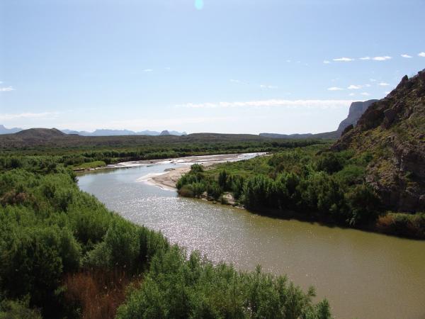 Los ríos más contaminados del mundo - Río Bravo o Grande