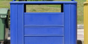 Qué se recicla en el contenedor azul