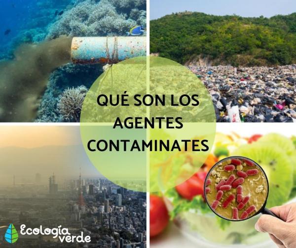 Qué son los agentes contaminantes