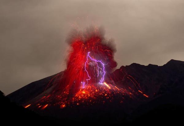 Tipos de erupciones volcánicas - Definición de las erupciones volcánicas según su tipo