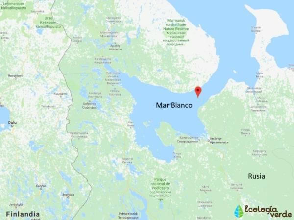 Por qué el Mar Blanco se llama así