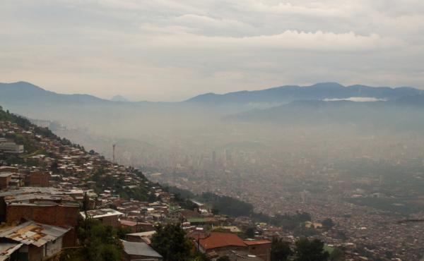 Problemas medioambientales y soluciones - Contaminación atmosférica
