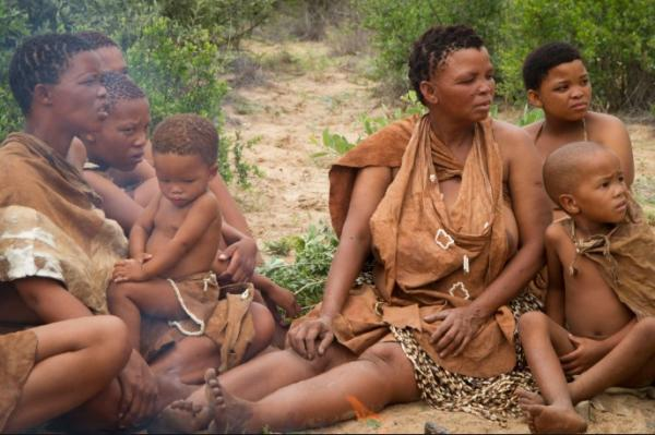 16 tribus africanas: nombres, significados y costumbres - Bosquimanos