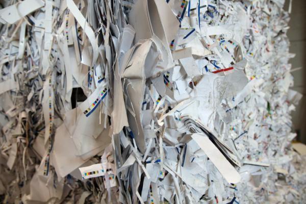 El proceso de reciclaje del papel