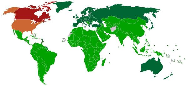 Protocolo de Kioto: qué es y en qué consiste - Protocolo de Kioto: países firmantes