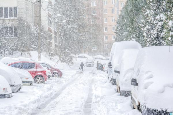 Qué es una tormenta de nieve y cómo se forma