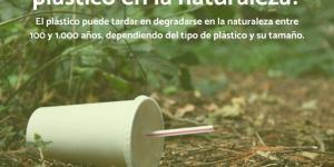 Cuánto tarda en degradarse el plástico