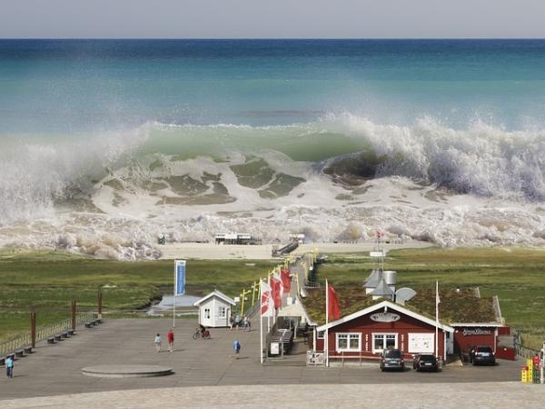 Cómo se forman los tsunamis
