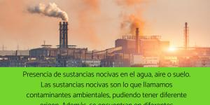 Qué es la contaminación ambiental