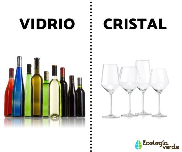 Diferencia entre vidrio y cristal - Diferencia entre vidrio y cristal - resumen