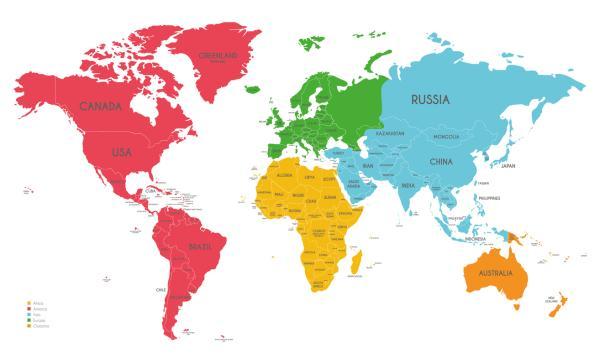 Cómo se formaron los continentes - Cuáles son los continentes actuales