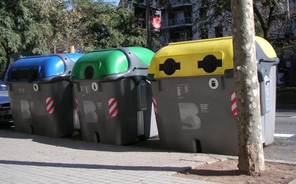 Tipos de basura - Tipos de contenedores de basura