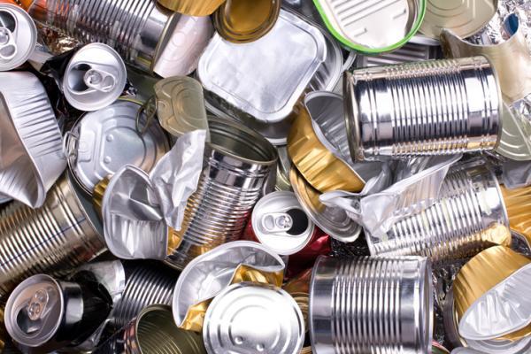 Cosas que se pueden reciclar - Latas de alumnio