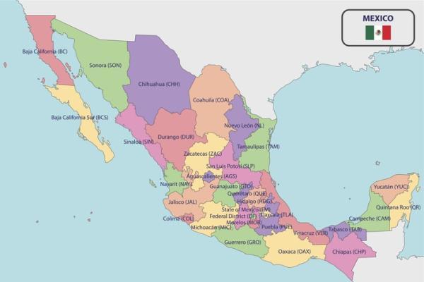 Cuáles son las regiones naturales de México - Estados de México