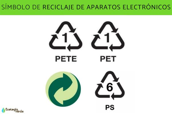 Símbolos del reciclaje y su significado - Reciclaje de residuos electrónicos y sus símbolos