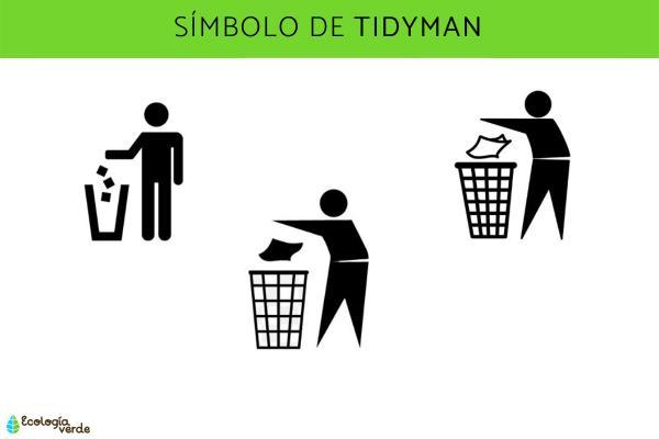 Símbolos del reciclaje y su significado - Símbolo del reciclaje: Tidyman