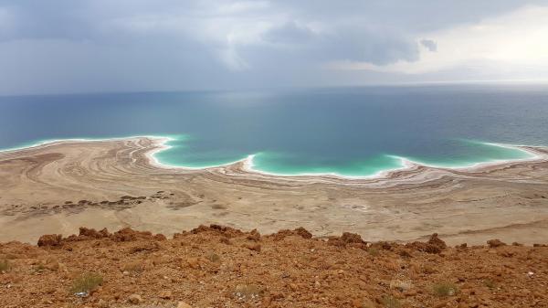 Por qué el mar es salado: explicación para niños - El Mar Muerto, el más salado del mundo.