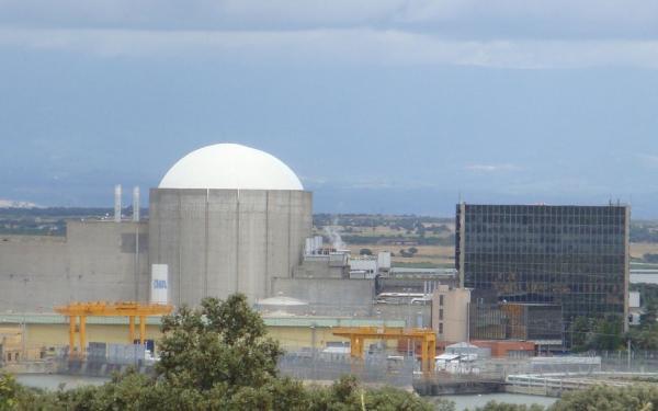 Centrales nucleares en España: número y dónde están - Central nuclear de Almaraz