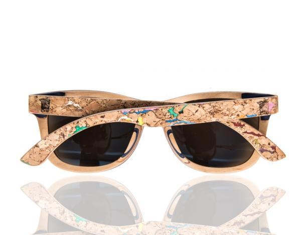 Las mejores gafas de sol de madera - El corcho como material para la moda sostenible