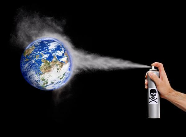 Tipos de contaminación ambiental - La contaminación por CFC's
