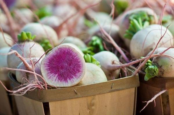 30 nombres de frutas tropicales raras - Rábano sandía