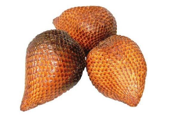 30 nombres de frutas tropicales raras - Salak