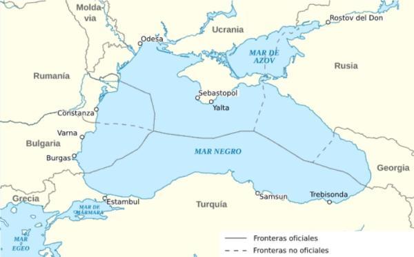Por qué se llama Mar Negro