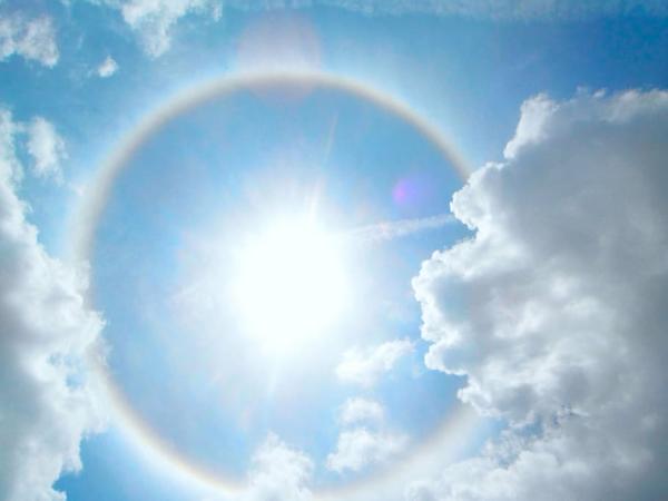 Qué es un halo solar y por qué se produce