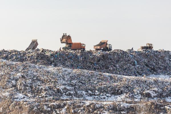 Qué es la gestión de residuos - Depósito en vertedero