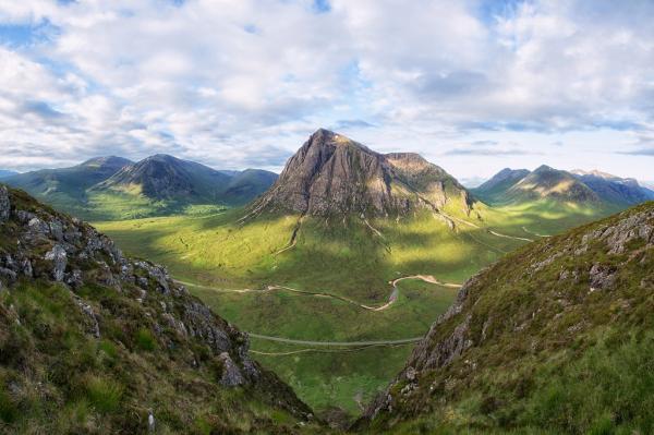 15 curiosidades de la naturaleza que te sorprenderán - Algunas de las montañas más viejas están en Escocia