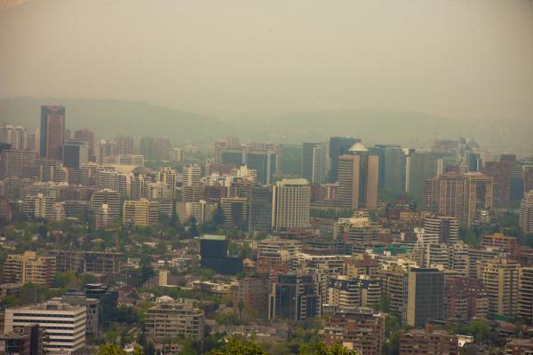 Problemas ambientales en Chile - Contaminación atmosférica