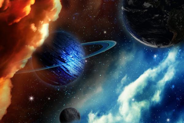 Planetas con anillos en el Sistema Solar