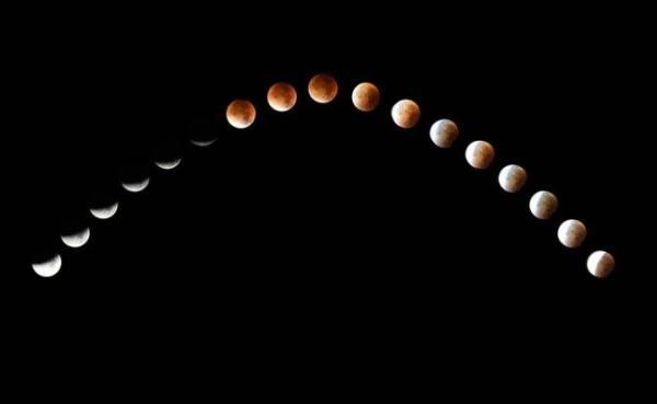 Por qué la luna brilla si no tiene luz propia - La órbita y la fase lunar influyen en el brillo de la luna