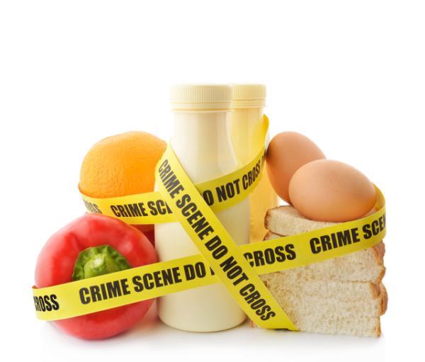 Tipos de contaminación en los alimentos