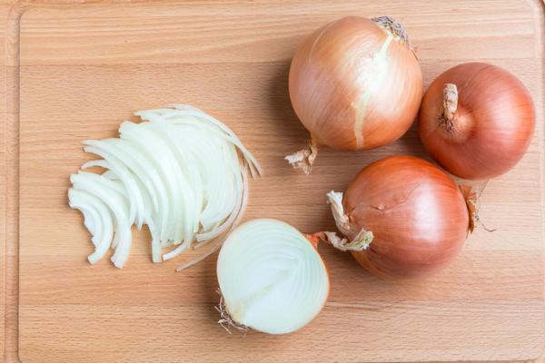 Tipos de cebolla - Cebolla amarilla, uno de los tipos de cebolla más comunes