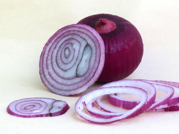 Tipos de cebolla - Cebolla roja o morada