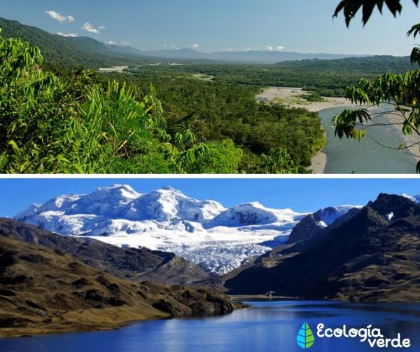 Patrimonio natural del Perú - Patrimonio natural del Perú - ejemplos