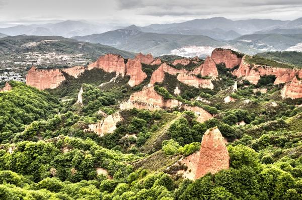 Los 10 paisajes más bonitos de España - Las Médulas