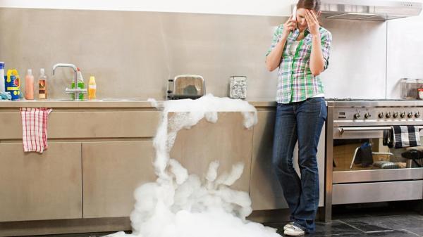 Qué cantidad de detergente usar para lavar la ropa - Problemas de un sobreenjabonado
