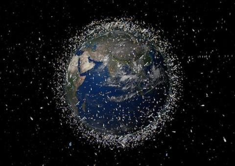 Contaminación espacial