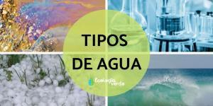 Tipos de agua