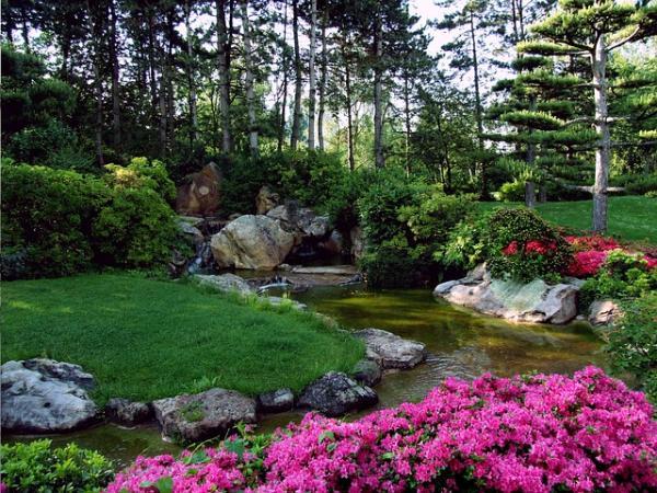 11 tipos de jardines - Jardín japonés