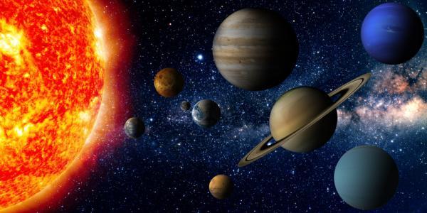Diferencia entre planeta, estrella y satélite natural
