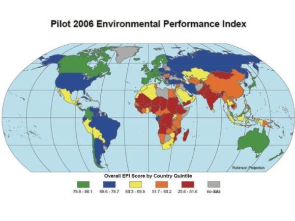 Indicateurs environnementaux : Définition, types et exemples - Indice de performance environnementale (IPE)
