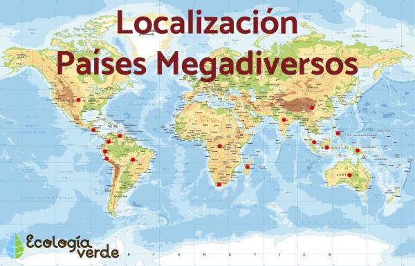 Qu'est-ce qu'un pays mégadivers - Définition et liste - Le Mexique est un pays mégadivers ?