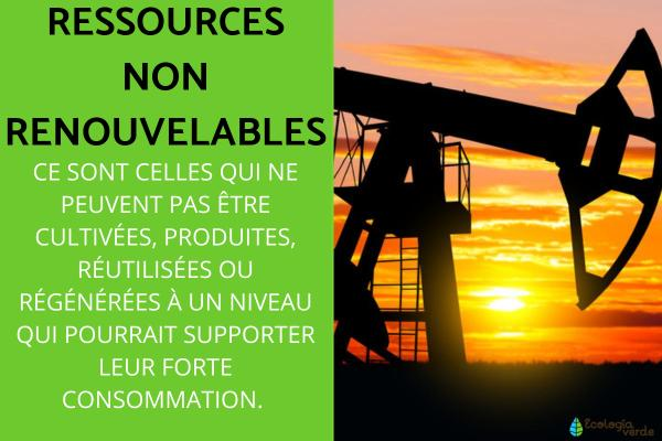Ressources non renouvelables : Définition et exemples